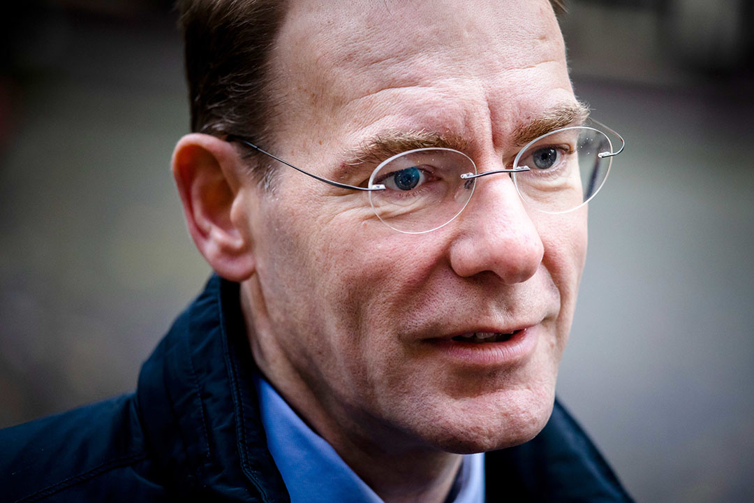 Staatssecretaris Menno Snel van Financiën - Foto: ANP -