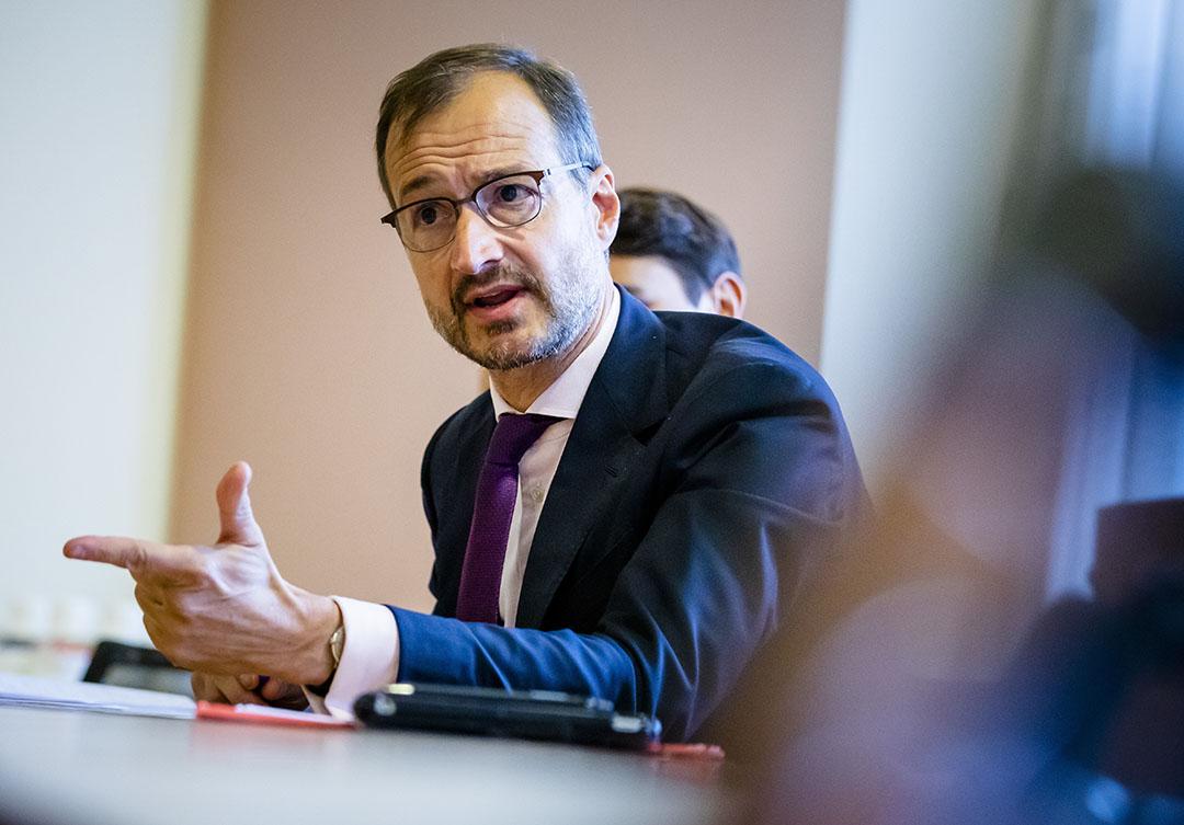 Minister Eric Wiebes. - Foto: ANP - Foto: BART MAAT