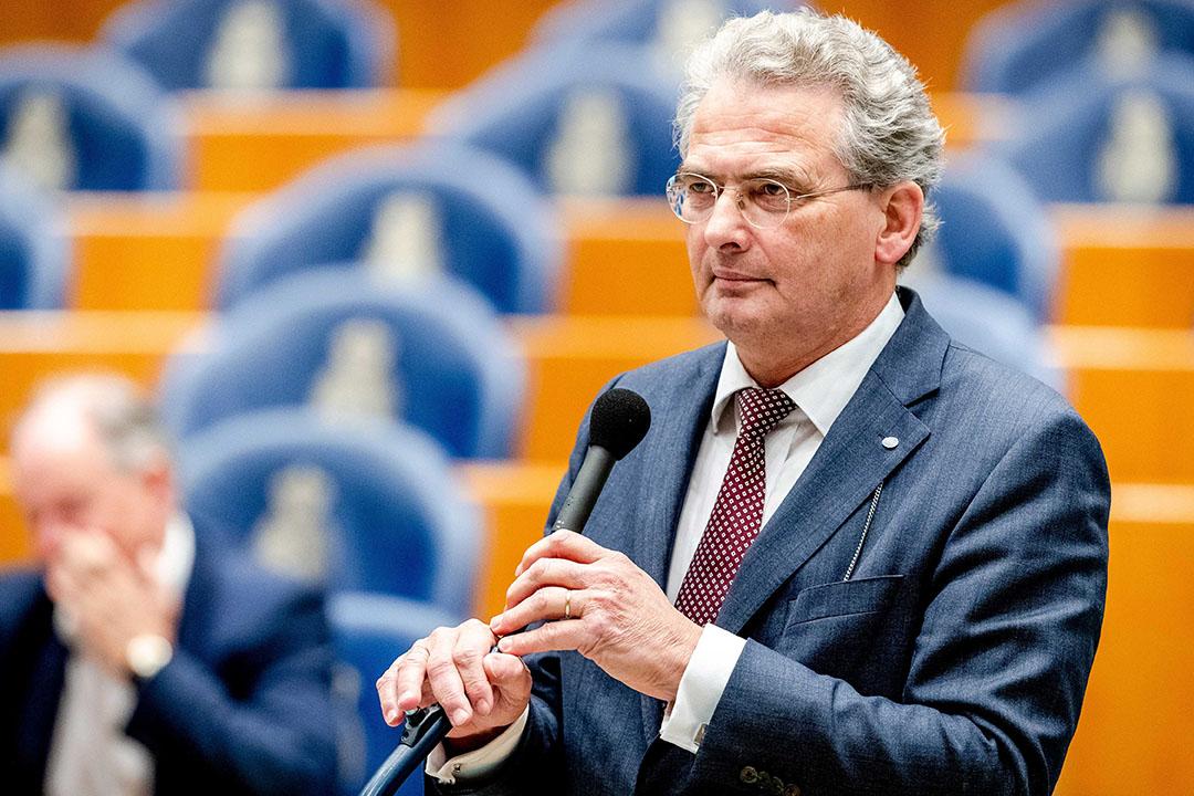 Roelof Bisschop (SGP) - Foto: ANP -