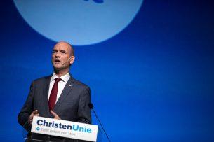 UTRECHT - ChristenUnie-partijleider Gert-Jan Segers houdt een toespraak tijdens het 40e partijcongres van de ChristenUnie. ANP JEROEN JUMELET - Foto: ANP JEROEN JUMELET