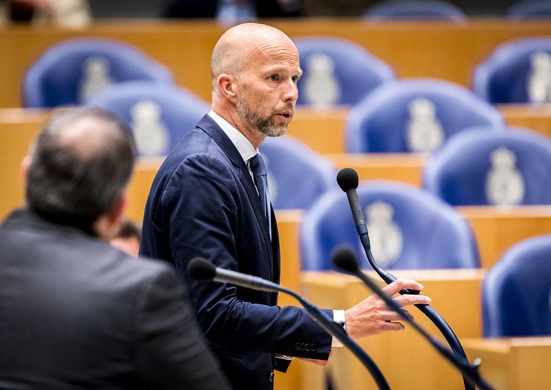Tweede Kamer-lid Tjeerd de Groot (D66). Foto: ANP