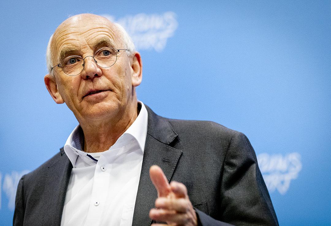 Voorzitter van het Landbouw Collectief Aalt Dijkhuizen. - Foto: ANP - Foto: Sem van der Wal