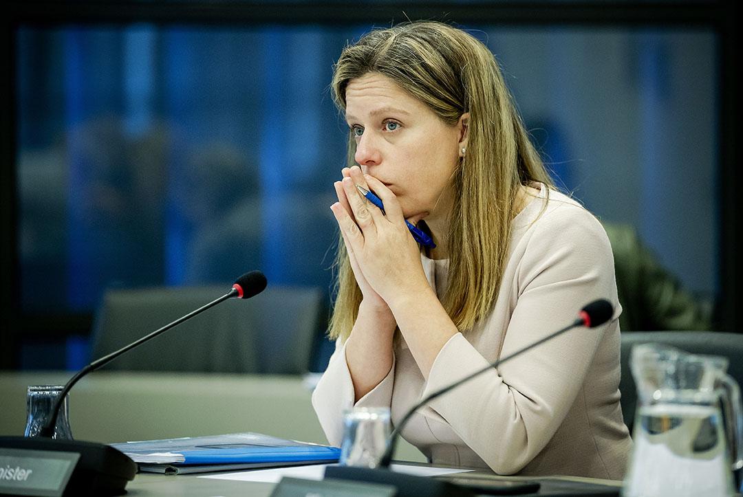 DEN HAAG - Minister Carola Schouten (Landbouw