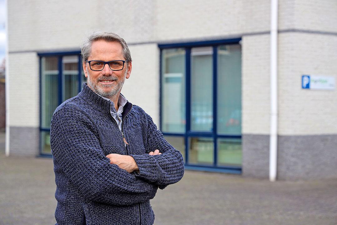 Algemeen directeur van AgriSyst Marc Cox ziet kansen in deelname Brits onderzoek. - Foto: Bert Jansen - Bert Jansen