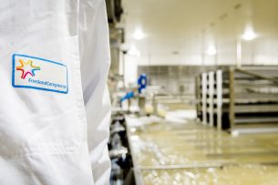 De kaasfabriek van FrieslandCampina in Workum. - Foto: ANP