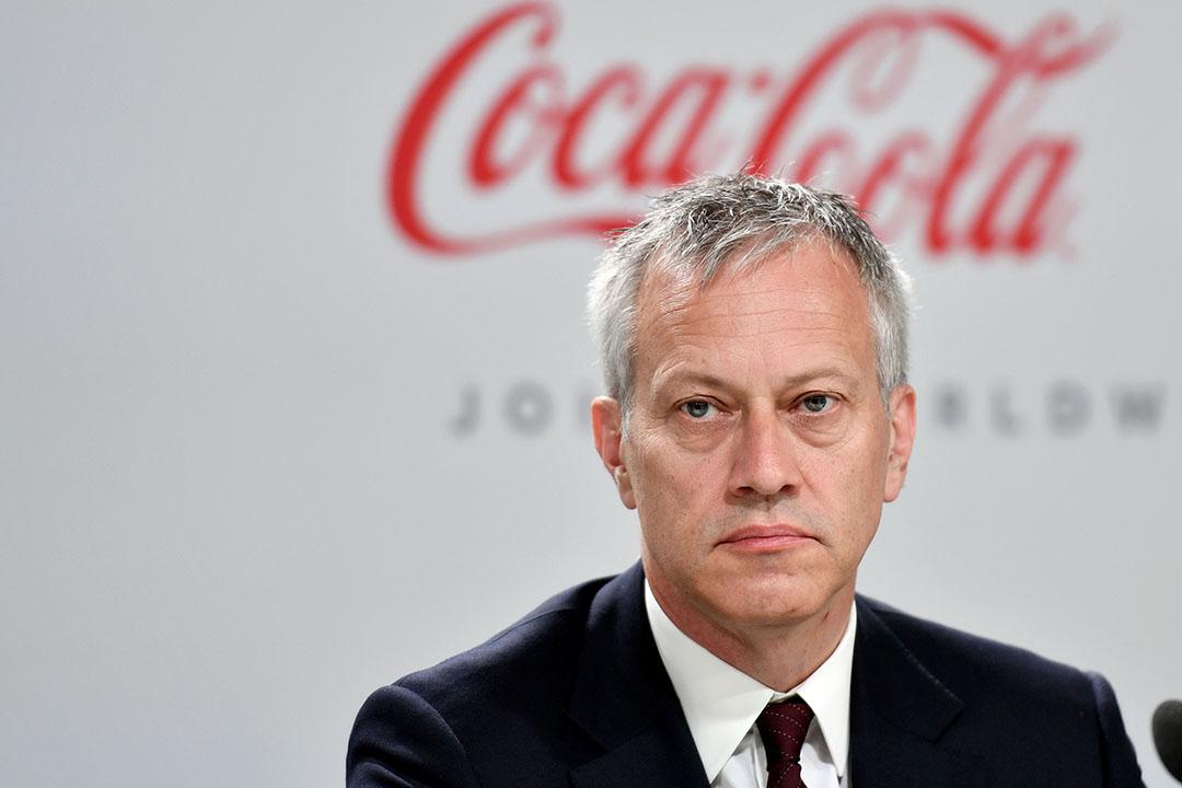 CEO James Quincey van Coca-Cola - Foto: ANP