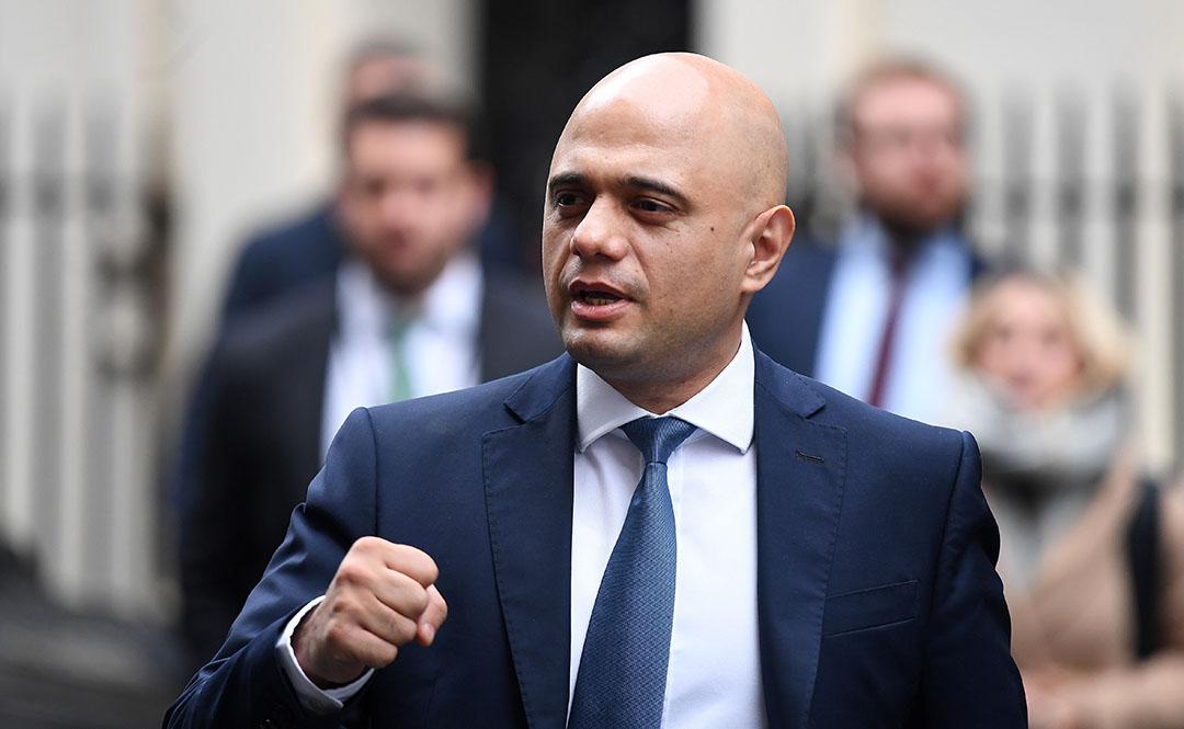 Britse minister van financiën Sajid Javid - Foto: ANP