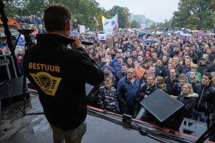 Boerenprotest op 16 oktober 2019 in Den Haag. - Foto: Roel Dijkstra