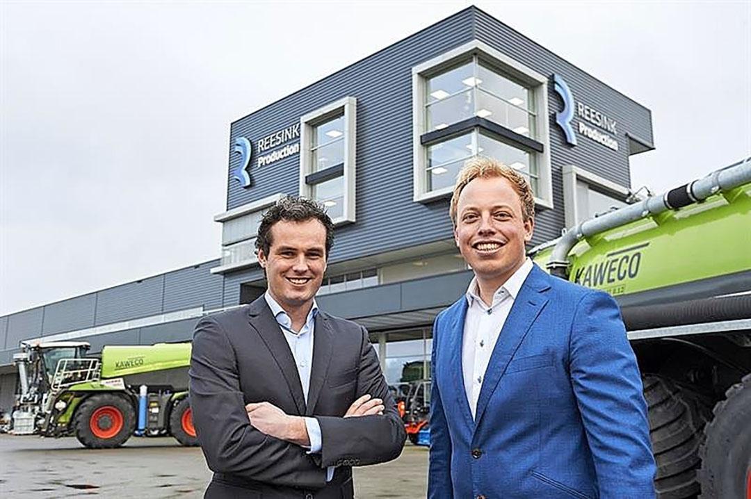 Roelofs en Veeneman vormen samen de nieuwe directie van Reesink Production. - Foto: Reesink Production