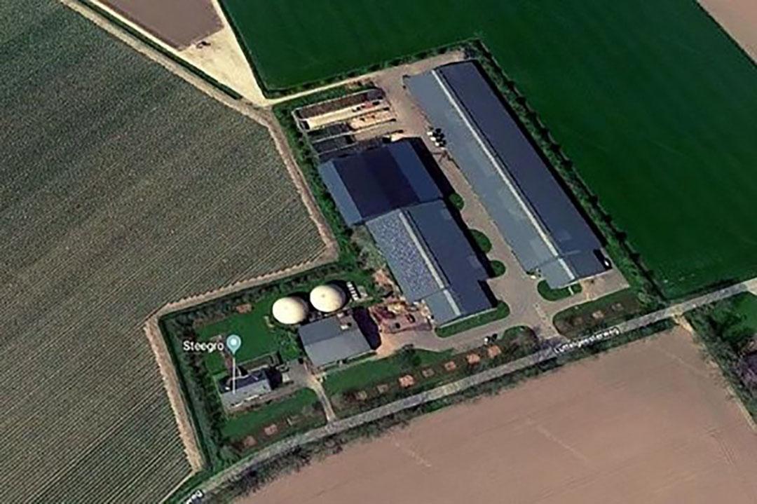 Het bedrijf van Van der Steege in Marknesse. - Afbeelding: Google Maps -