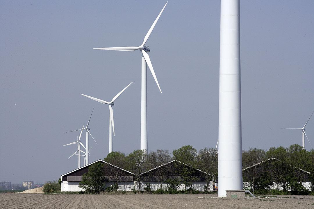 In 2050 zal 10.000 megawatt van windmolens op land moeten komen