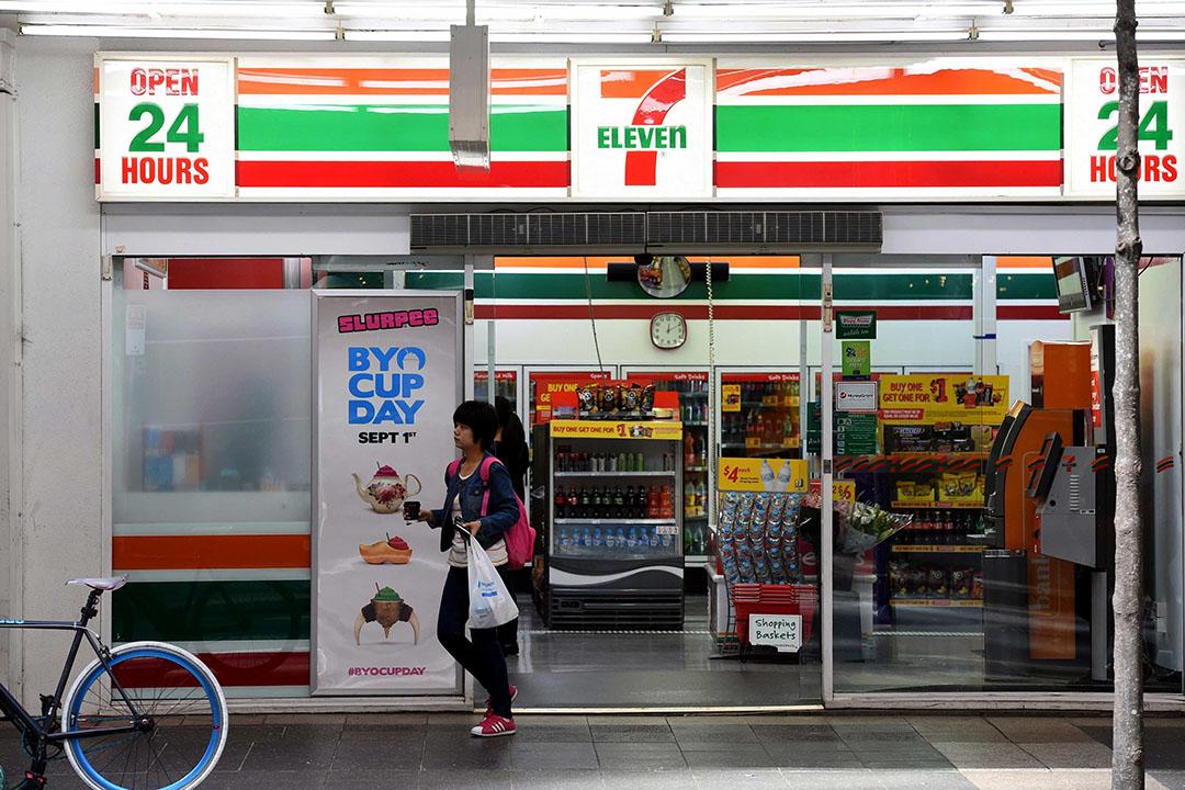 Een 7-Eleven-winkel in Brisbane. - Foto: ANP