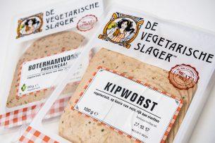 Vegetarische producten voor op de boterham. - Foto: ANP