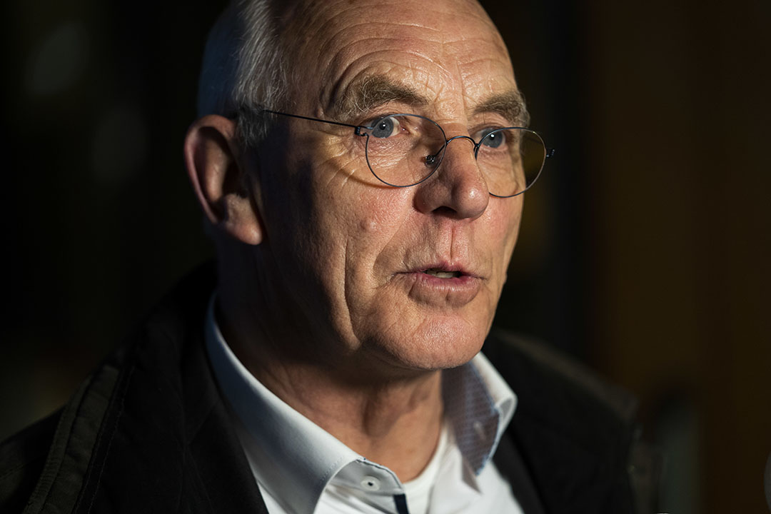 Aalt Dijkhuizen is niet langer voorzitter van het Landbouw Collectief. - Foto: ANP