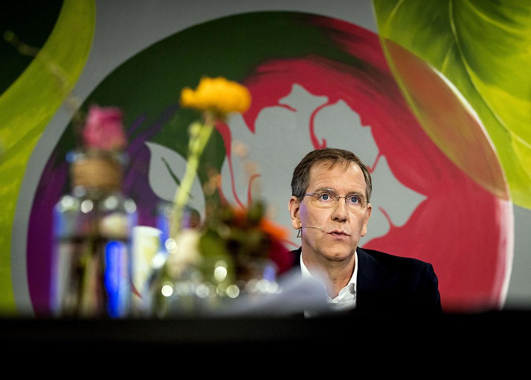 Topman Wiebe Draijer van Rabobank - Foto: ANP