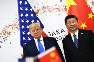 De Amerikaanse president Donald Trump en de Chinese president Xi Jinping. - Foto: ANP