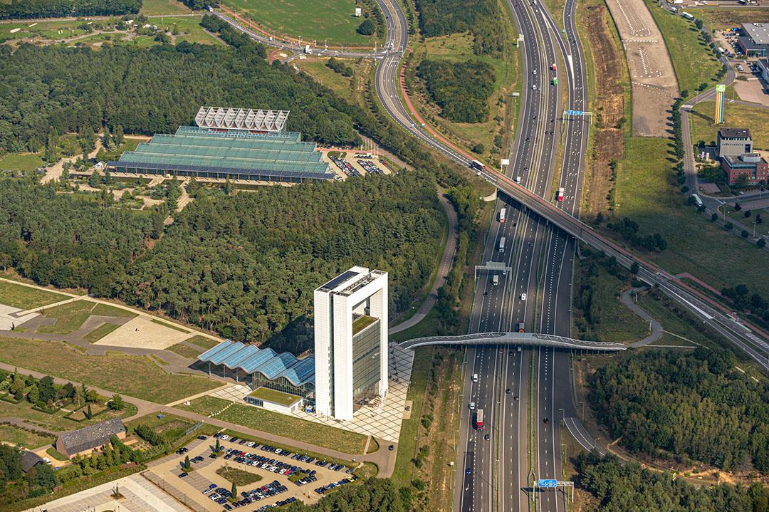 Luchtfoto van de Brightlands Campussen. - Foto: Marc Schols