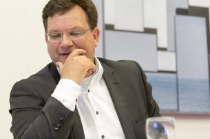 CDA-Tweede Kamerlid Jaco Geurts. - Foto: Roel Dijkstra