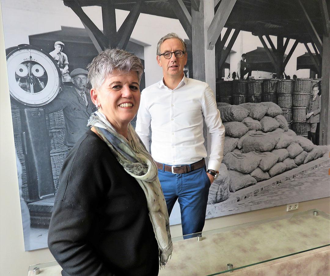 Els van Herpen en Michiel van Ginkel. - Foto: Ton van der Scheer