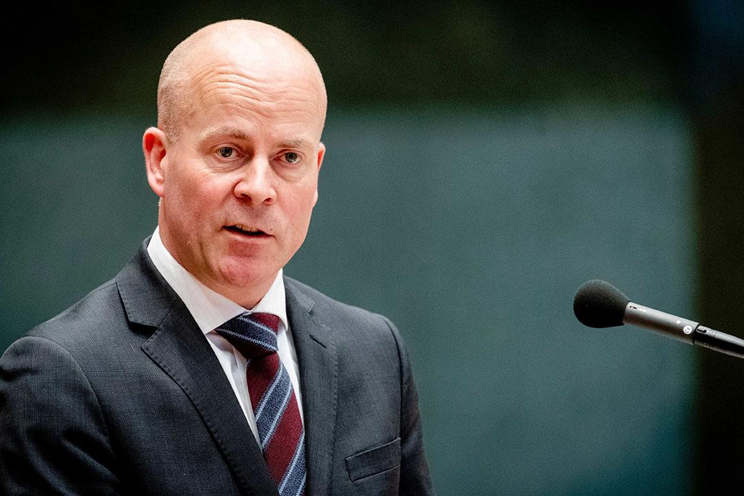 Minister van Binnenlandse Zaken en Koninkrijksrelaties Raymond Knops - Foto: ANP