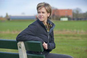 """Linda Janssen, voorzitter van de Producenten Organisatie Varkenshouderij: """"Bij het ministerie is sinds de stikstofcrisis geen enkele aandacht voor het toekomstperspectief voor de sector."""" - Foto: Van Assendelft Fotografie"""