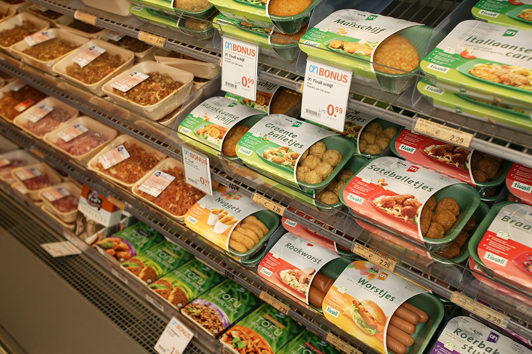 Het wordt dringen op de markt voor vleesvervangers. - Foto: Jan Willem Schouten