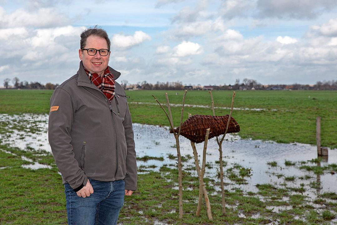 """Meeuwis Millenaar: """"Schaalvergroting is voor veel Brabantse boeren geen optie meer."""" - Foto: Peter Roek"""