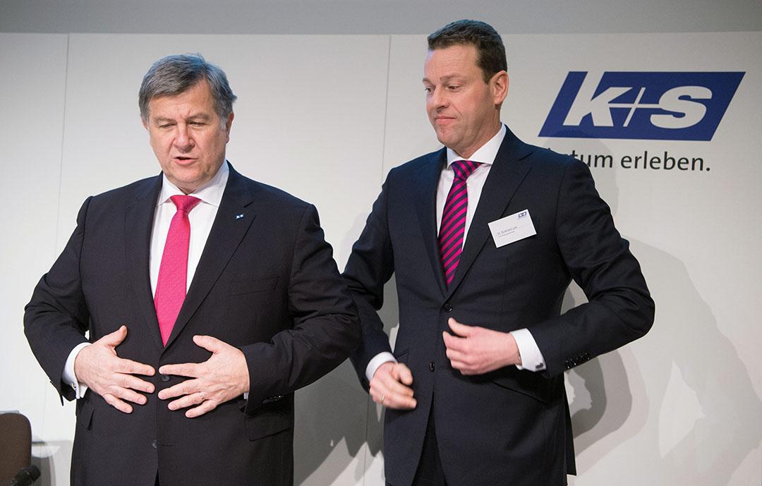 CEO Burkhard Lohr (rechts) - Foto: ANP