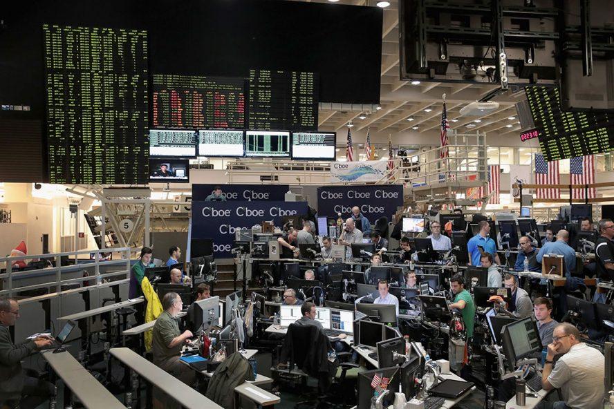 De handel in de contracten voor varkens en vleesvee op de termijnmarkt van Chicago gaat rap omhoog. - Foto: ANP