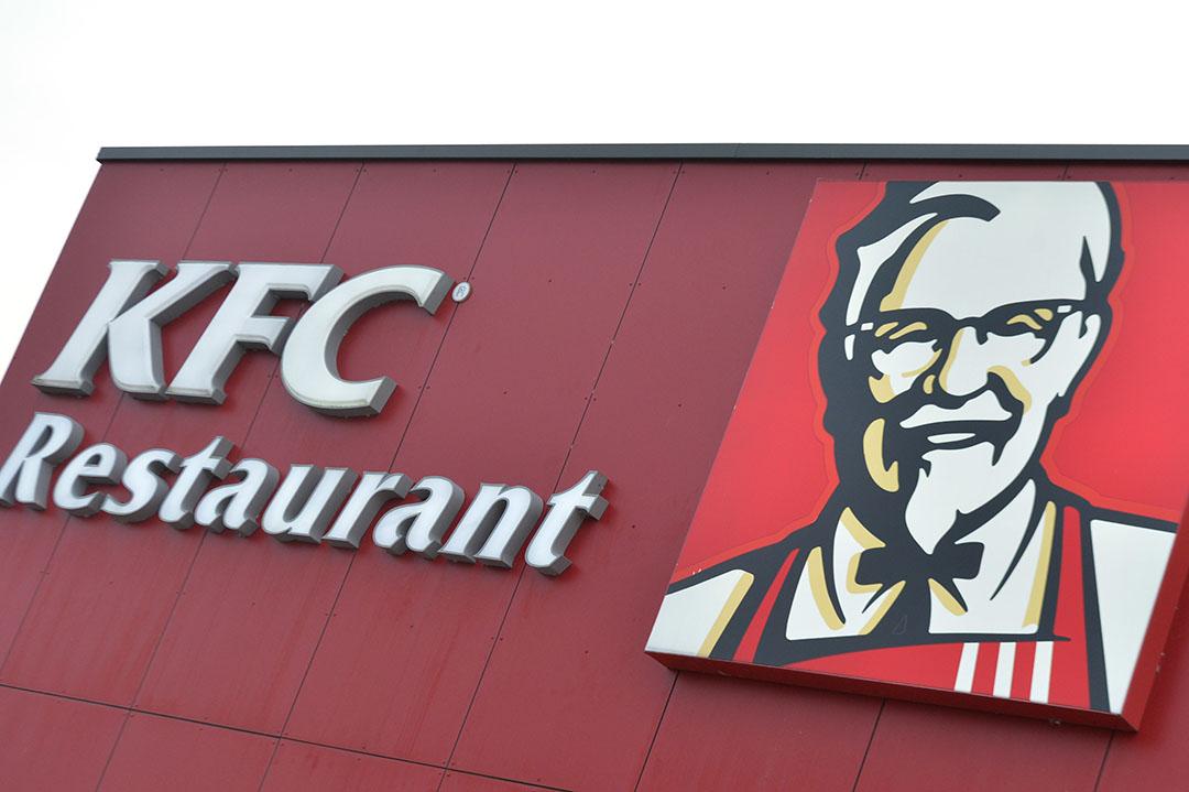 Logo van een Kentucky Fried Chicken-restaurant. - Foto: ANP