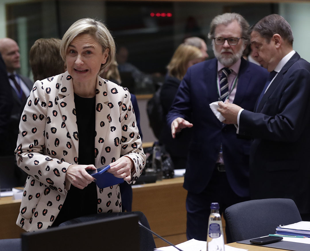 Hilde Crevits, Vlaamse landbouwminister - Foto: ANP