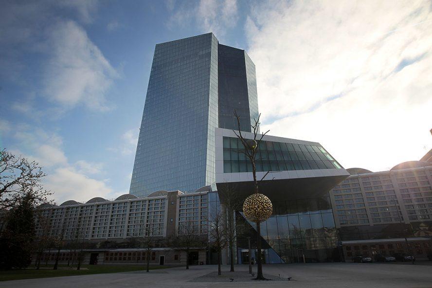 Hoofdkantoor ECB - Foto: ANP