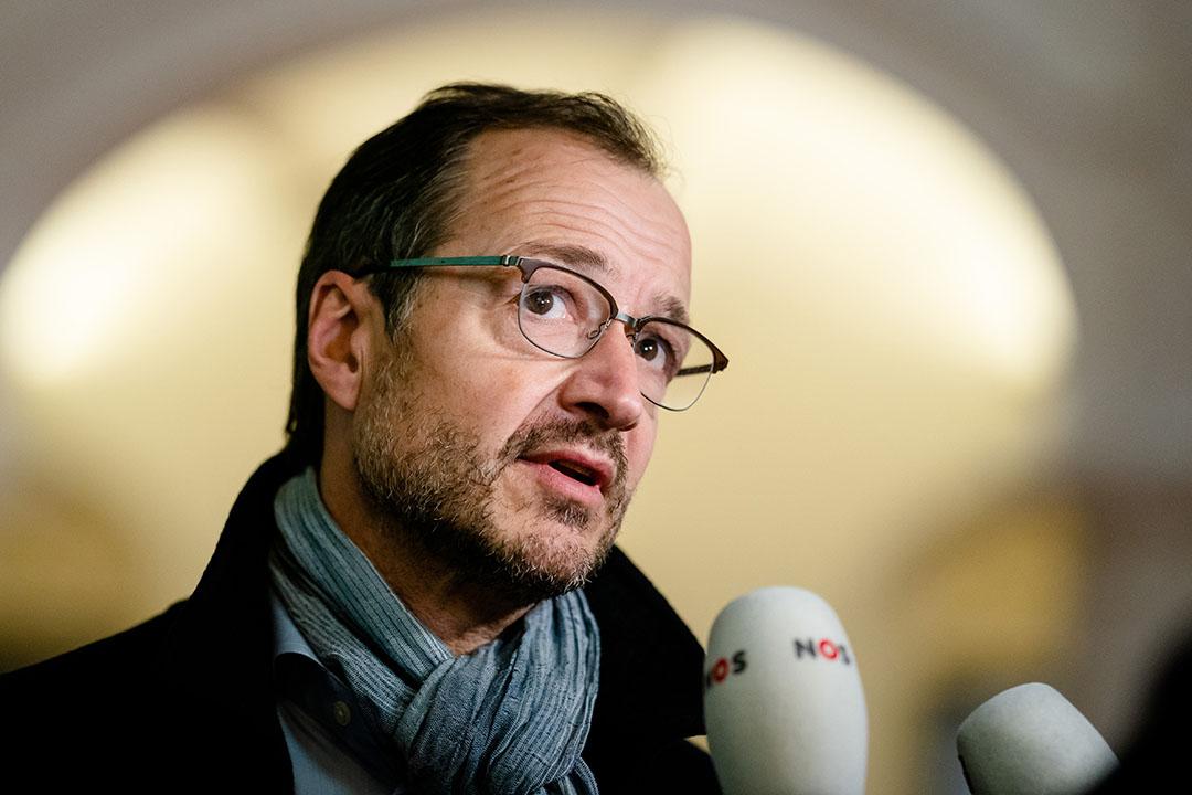 Minister Eric Wiebes van Economische Zaken en Klimaat. - Foto: ANP
