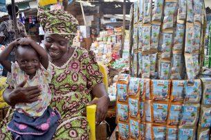 Zuivel van FrieslandCampina in Nigeria - Foto: RFC