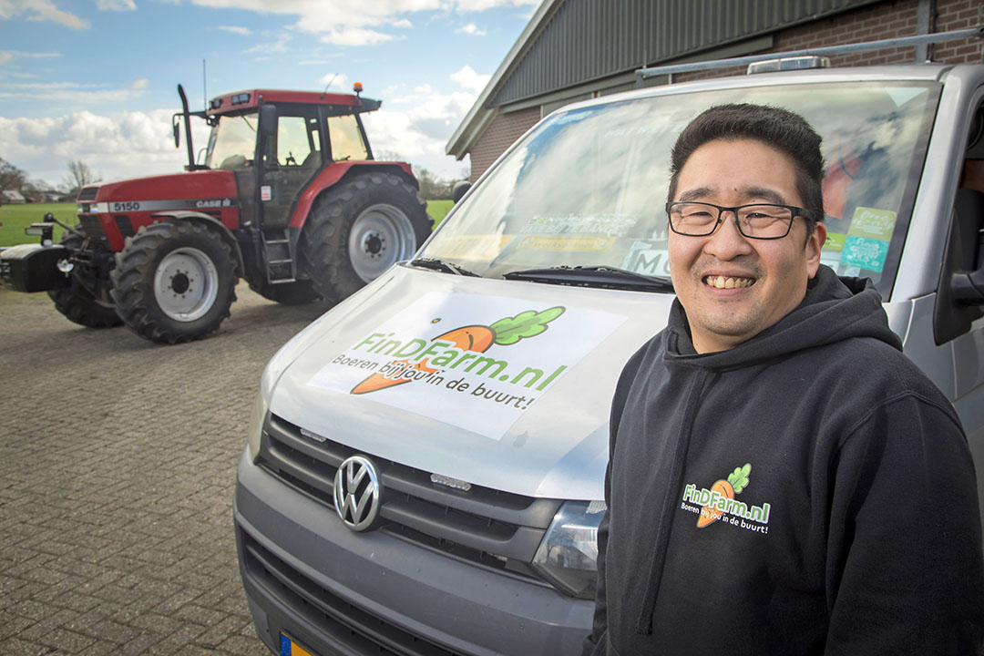 Roy Hallink, zelf geen boer(enzoon), maar zeer begaan met de agrarische sector. - Foto: Koos Groenewold