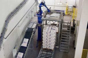 Melkverwerking bij Vreugdenhil Dairy Foods. - Foto: Herbert Wiggerman