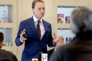 CEO Hein Schumacher van FrieslandCampina - Foto: ANP