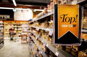 De omzet van Coop groeide afgelopen jaar met €100 miljoen tot €1,3 miljard. Foto: ANP