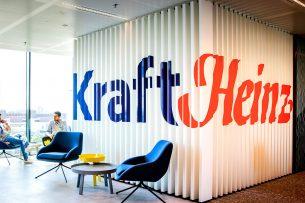Interieur van het Global Center of Excellence van de Amerikaanse voedingsgigant Kraft Heinz op de Amsterdamse Zuidas. - Foto: ANP