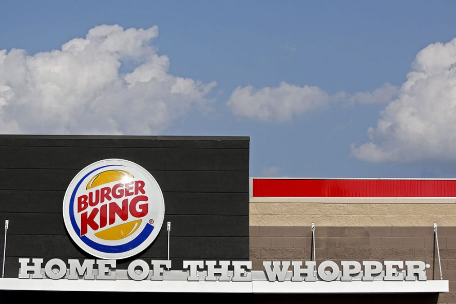 Burger King lanceerde de op sojabasis vervaardigde Rebel Whopper in januari toen in het Verenigd Koninkrijk 'Veganuary' werd gehouden. - Foto: ANP
