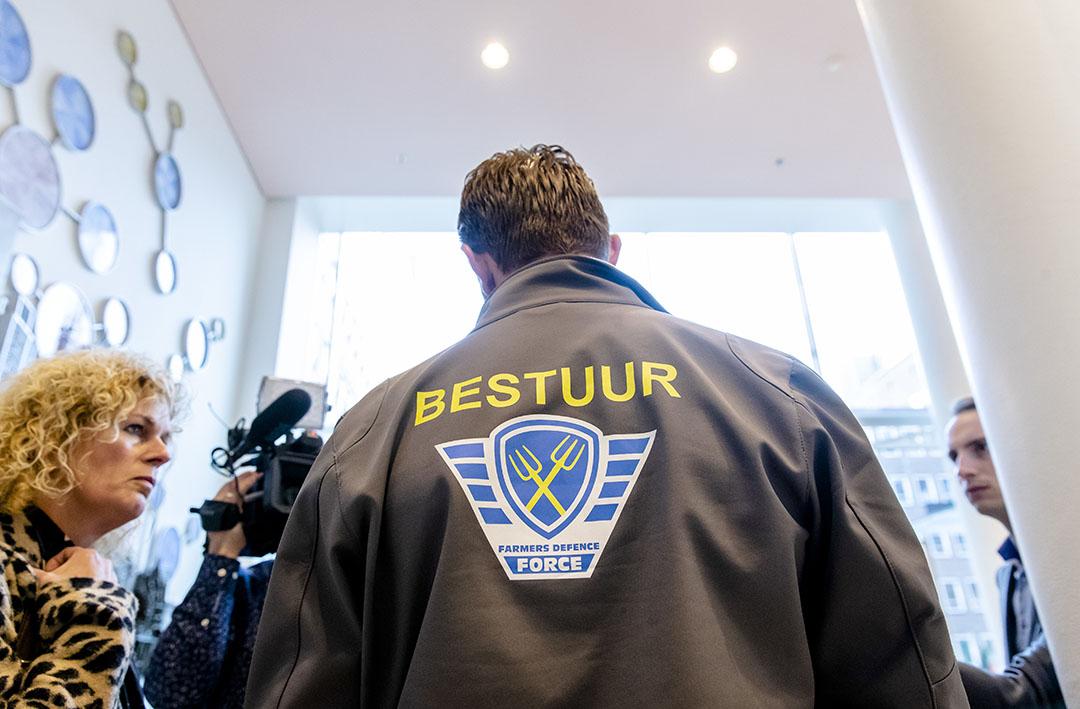 Jeroen van Maanen verlaat Farmers Defence Force. - Foto: ANP