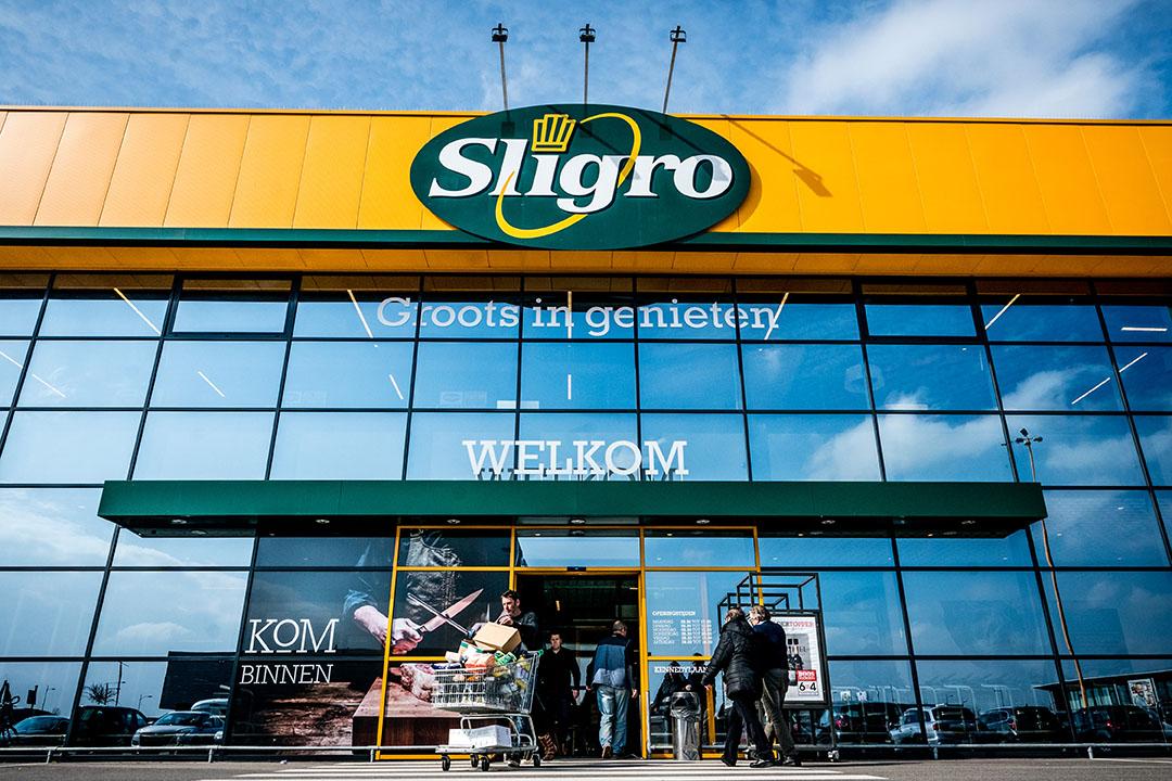 Ingang Sligro-vestiging. Foto: ANP