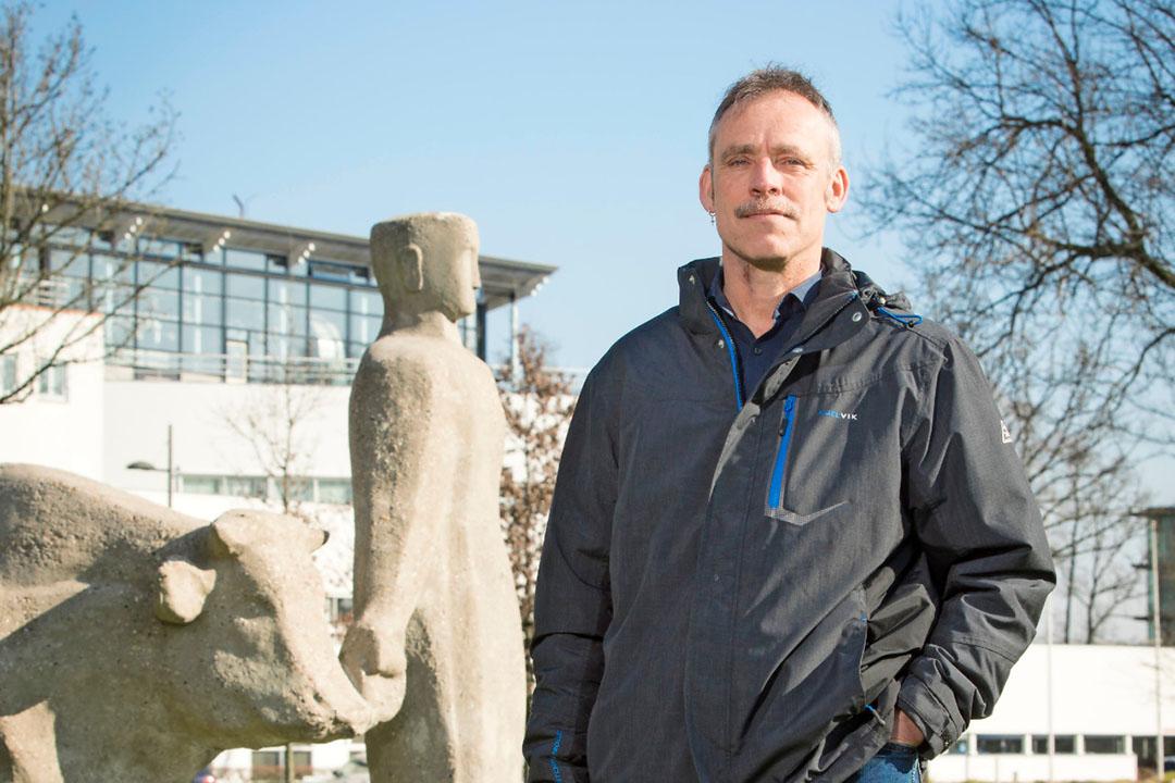 Jan Dijkstra, diervoedingsexpert bij Wageningen Universiteit (WUR). - Foto: Koos Groenewold