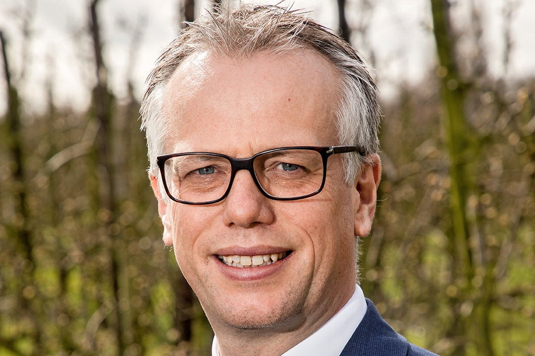 Agrarisch notaris Govert-Jan Hoogenboom (44) en voorzitter van de Vereniging Agrarisch Specialisten in het Notariaat (VASN). - Foto: Herbert Wiggerman