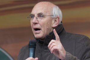 Aalt Dijkhuizen, voorzitter van het Landbouw Collectief. - Foto: Koos Groenewold