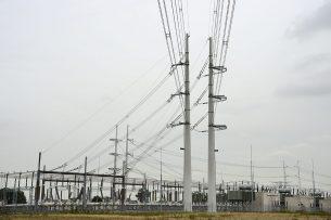 Een hoogspaningsstation van TenneT in Bleiswijk. - Foto: ANP