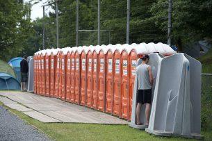 Archieffoto van sanitaire voorzieningen op Pinkpop enkele jaren geleden. - Foto: ANP
