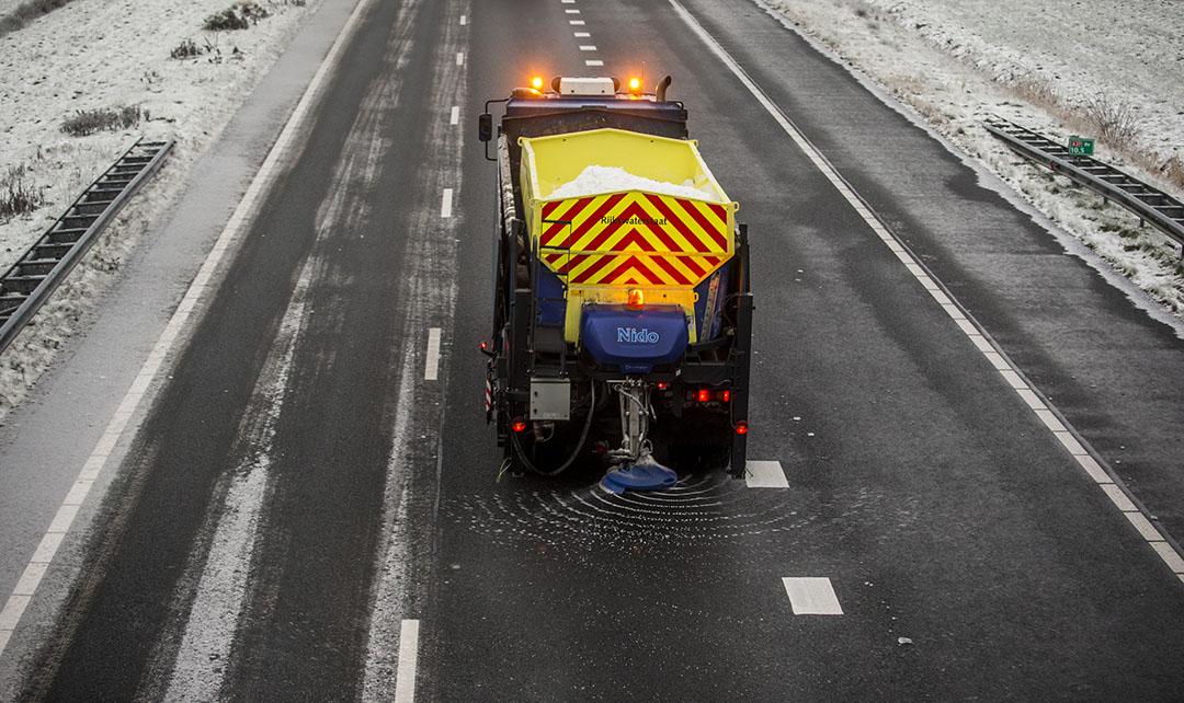 De omzet daalde door de kleinere wegenzoutafzet ten opzichte van het eerste kwartaal van vorig jaar met 14% naar €1,1 miljard. Foto: ANP