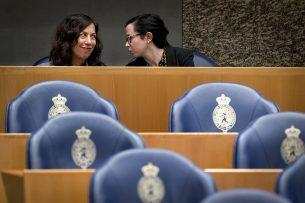 Ambassadeur Lisa Helfand van Canada (links). Foto: ANP