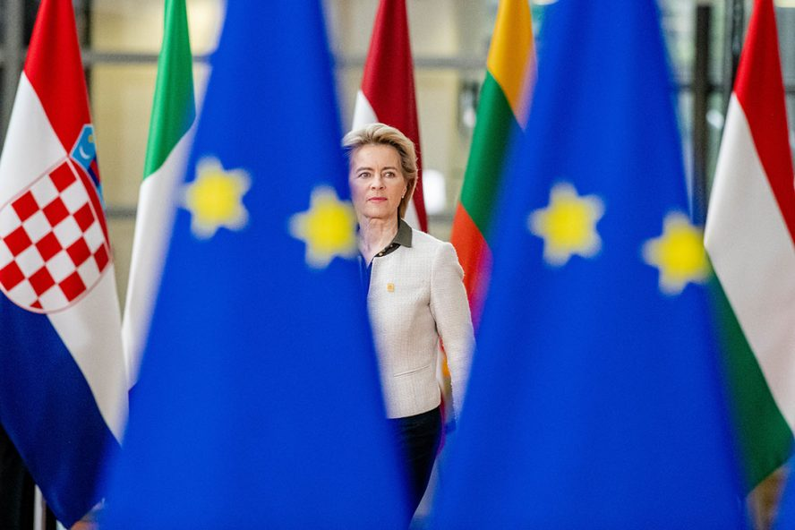 President van de Europese Commissie Ursula von der Leyen. - Foto: ANP